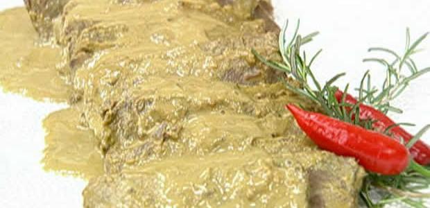 Receita Carne ao Molho de Leite