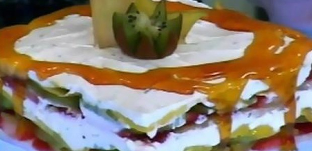 Receita Lasanha de Frutas