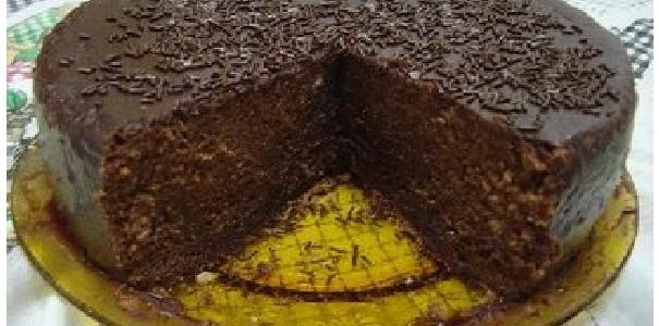 Receita Bolo de Chocolate com Água