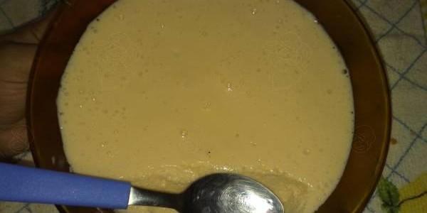 Receita de Mousse de Maracujá Tang