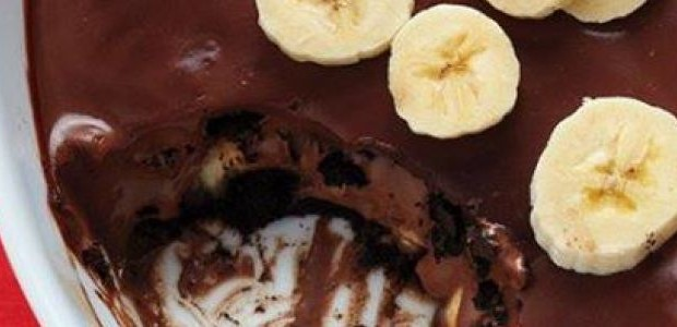 Creme Chocolate com Banana