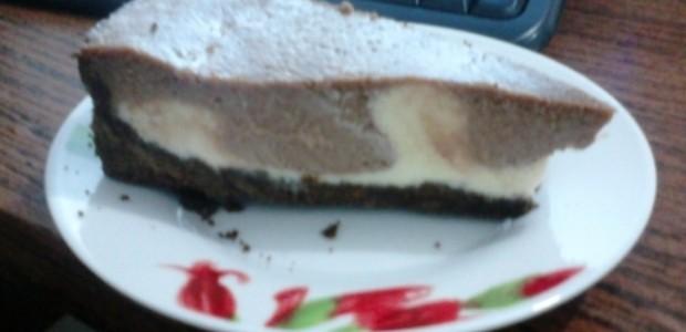 Torta Mousse de Limão e Brigadeiro