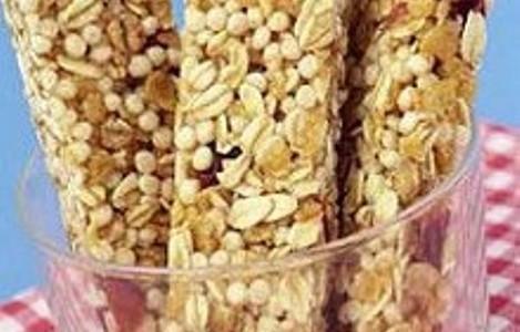 Barrinha de Cereal Caseira