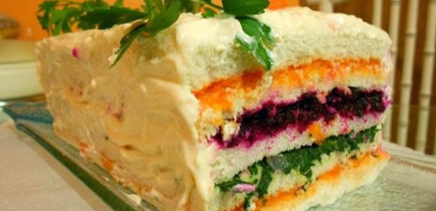 Torta Fria Salada Light