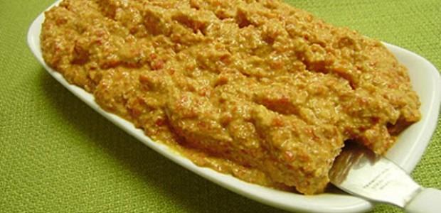 Patê de Tomate e Requeijão