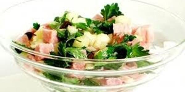 Salada de Tender para Ceia