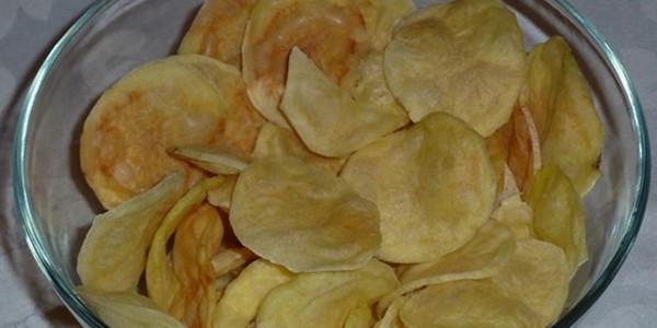 Batatas Chips Rápidas