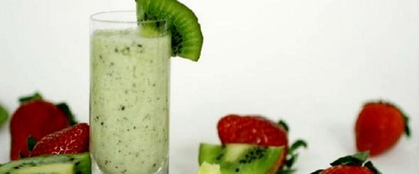 Bebida Cremosa de Kiwi