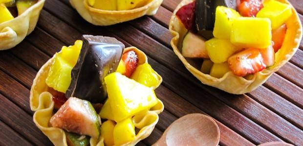 Salada de Fruta na Cestinha