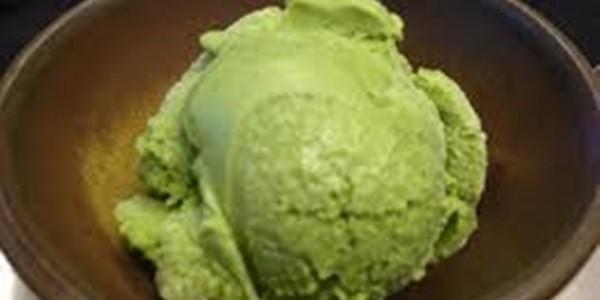 Sorvete de Chá Verde
