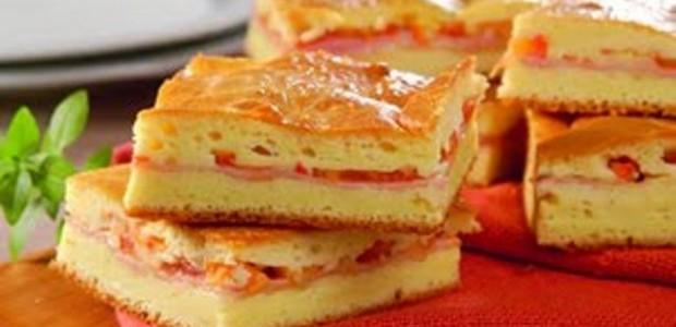 Torta de Liquidificador sabor Pizza