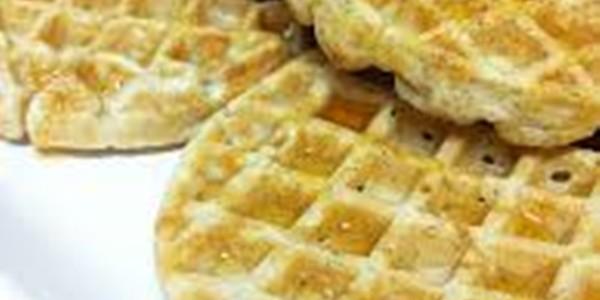 Waffle para café da manhã