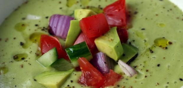 Sopa Fria de Abacate