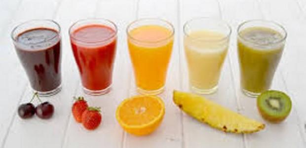 Batida de Frutas e Vodka