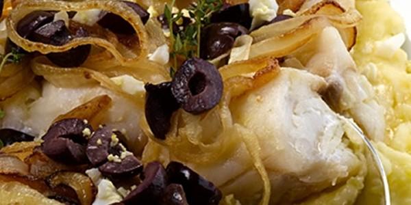 Almoço de Páscoa Bacalhau