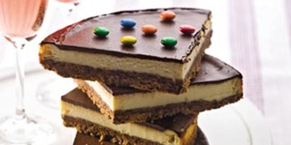 Cheesecake Chocolate com Ricota