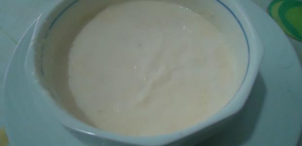 Molho Branco de Microondas
