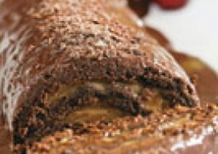Rocambole de Chocolate caseiro