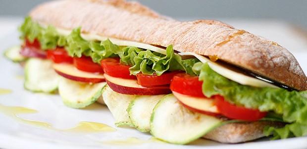 Sanduba Vegetariano