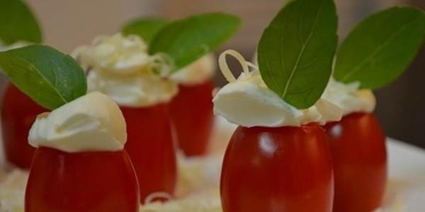 Tomatinhos com Cream Cheese