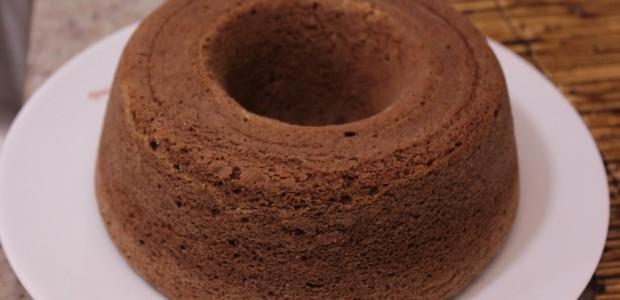 Bolo de Chocolate feito com Água