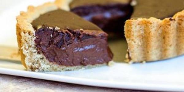 Torta Mousse de Chocolate Vegano