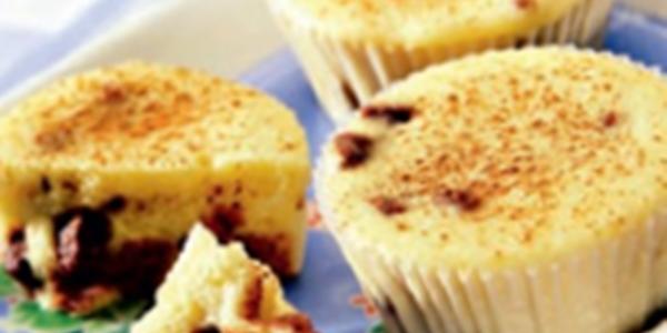 Muffins com Chocolate