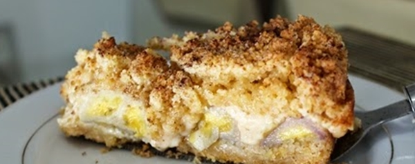Torta de Banana Recheada