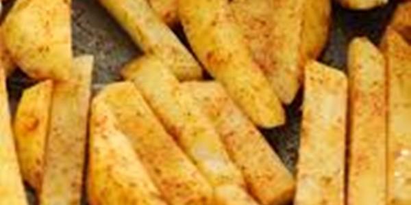 Receita Batata Frita de Forno