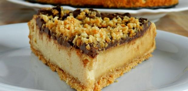 Receita Cheesecake de Pasta de Amendoim