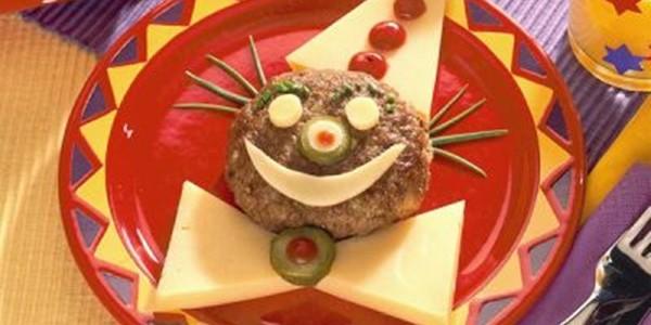 Receita Hambúrguer Palhaço