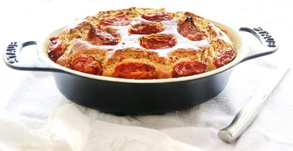 Receita Pão com Calabresa e Tomate Seco
