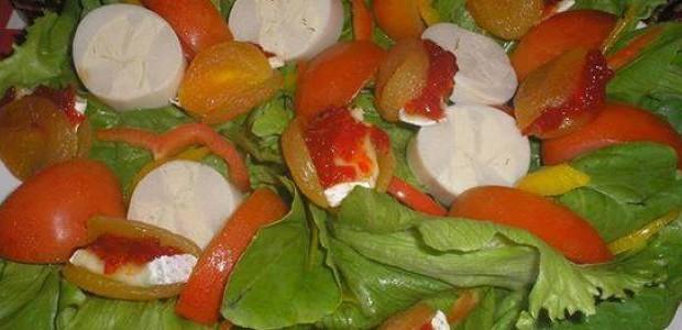 Receita Salada Picante