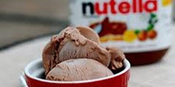 Receita Sorvete de Nutella