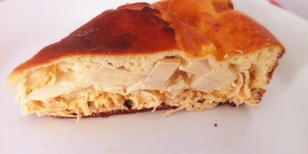 Receita Torta de Frango com Palmito Light