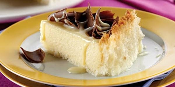 Receita Torta Mousse de Coco