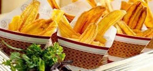 Receita Chips de Banana