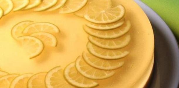 Receita Gelatina de Limão