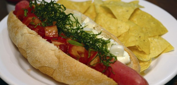 Receita Hot Dog Gourmet