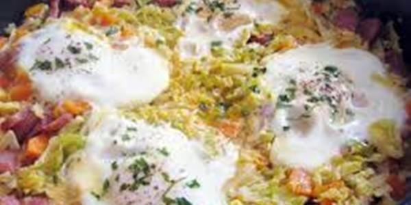 Receita Ovos Escalfados