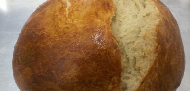 Receita Pão feito em Casa