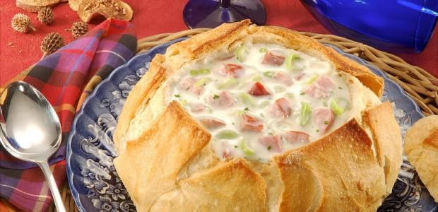 Receita Pão Italiano Para Sopa