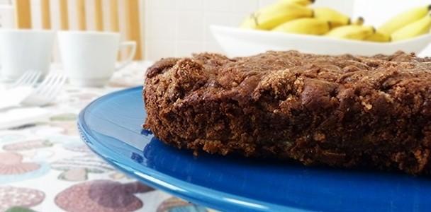 Receita Torta de Banana Crioula