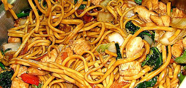 Receita Yakissoba Frango e Carne