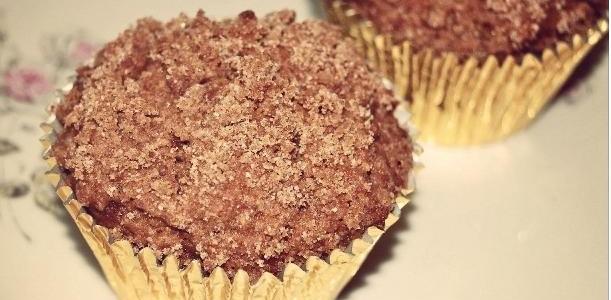Muffins de Chocolate com Canela