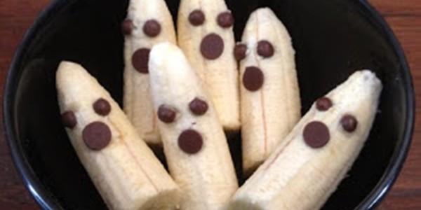 Receita Bananas Fantasmas