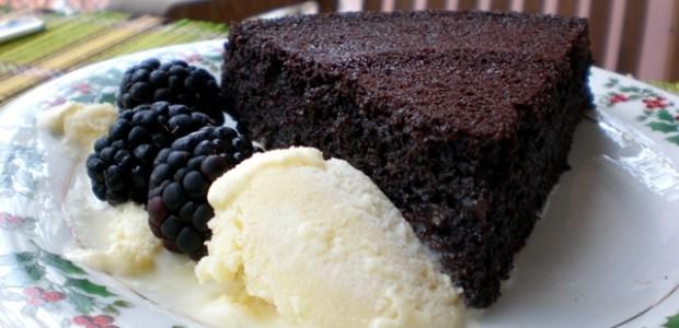 Receita Bolo de Chocolate sem Farinha