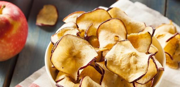 Receita Chips de Maçã