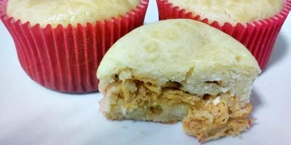 Receita Cupcake de Frango