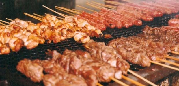 Receita Espetinhos de Carne